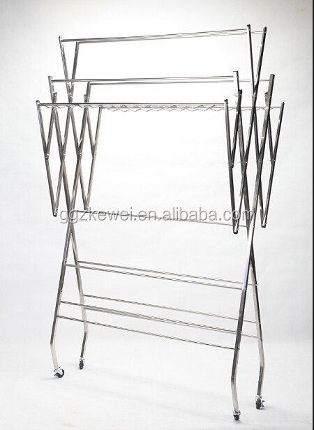 Multifunctional Stainless Steel Clothes Drying Rack