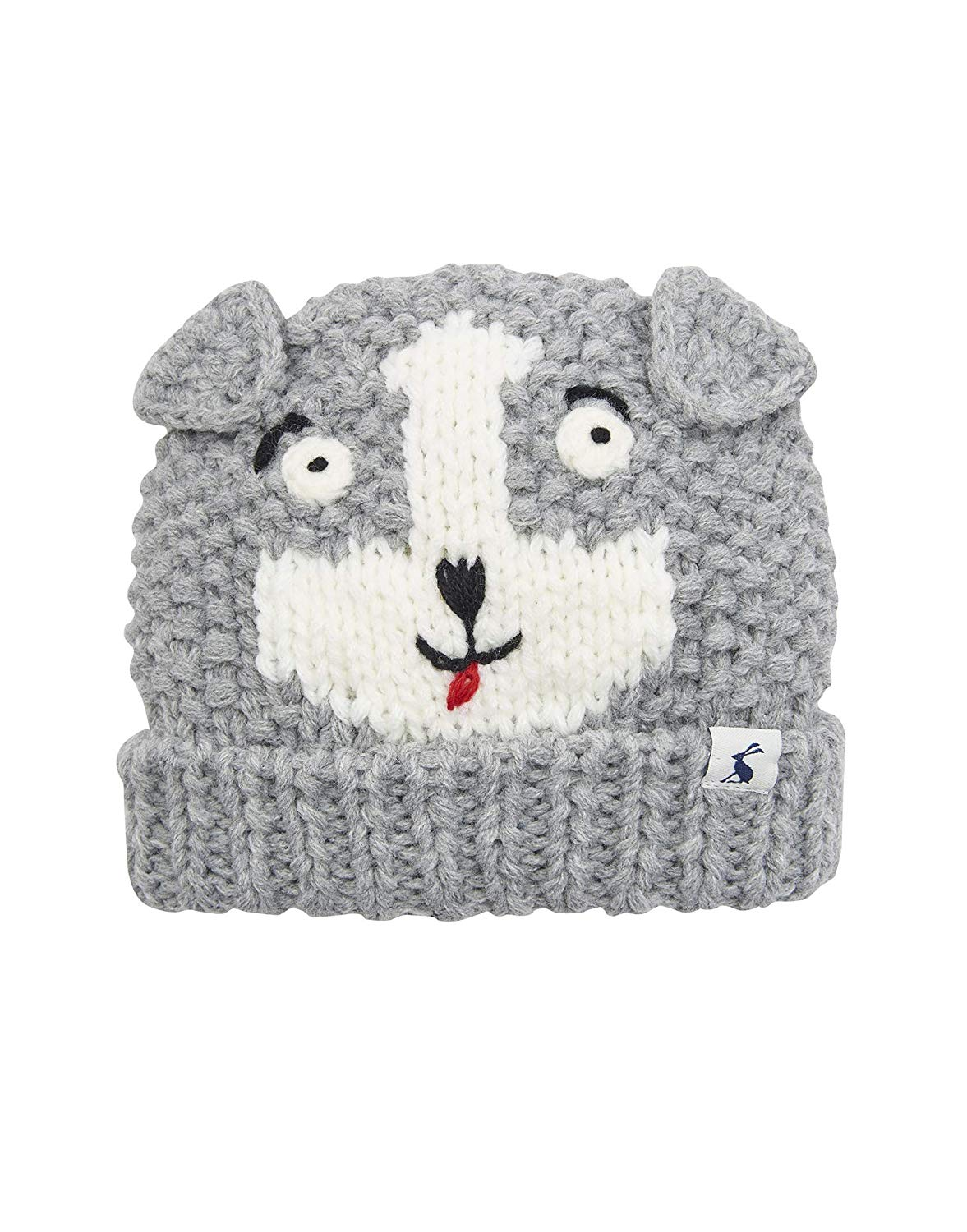 74638e228d0 Get Quotations · Joules Knitted Character Hat - Dog