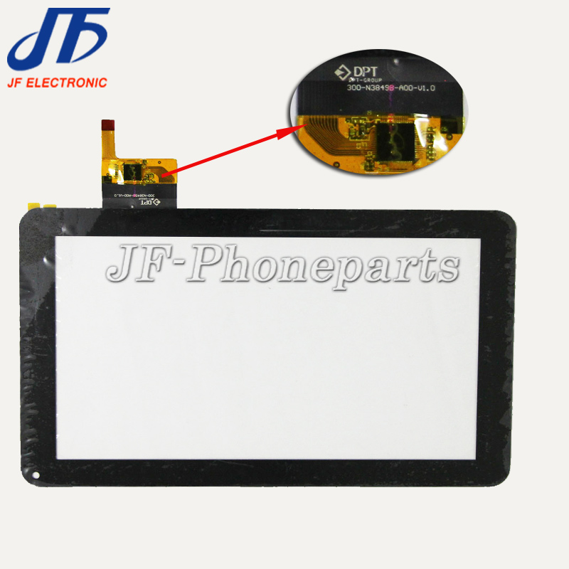 Jfphoneparts 9 pollice Capacitive Touch Screen Digitizer Vetro Per dpt-gruppo N3849b-A00-V1.0