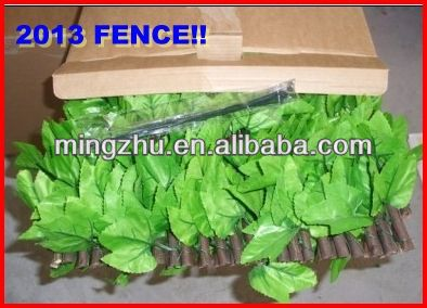 2013 Garden Supplies PVC fence New building material home decoration wall ornament
