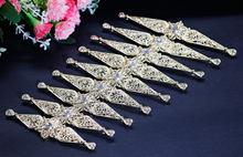 SUNSPICE винтажный металлический свадебный пояс для женщин Стразы пояс для свадебного платья Регулируемая длина поясная цепь античное золото ...(Китай)