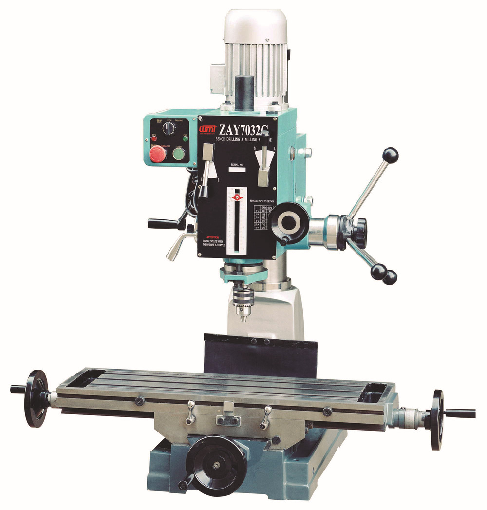 Zay7040g Gear Head Manual Bench Drilling And Milling