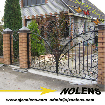 Wrought Iron Gate Apartment Main Entrance Designs