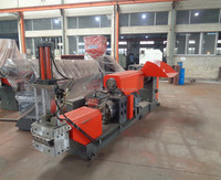 Plastic recycling machinery production line