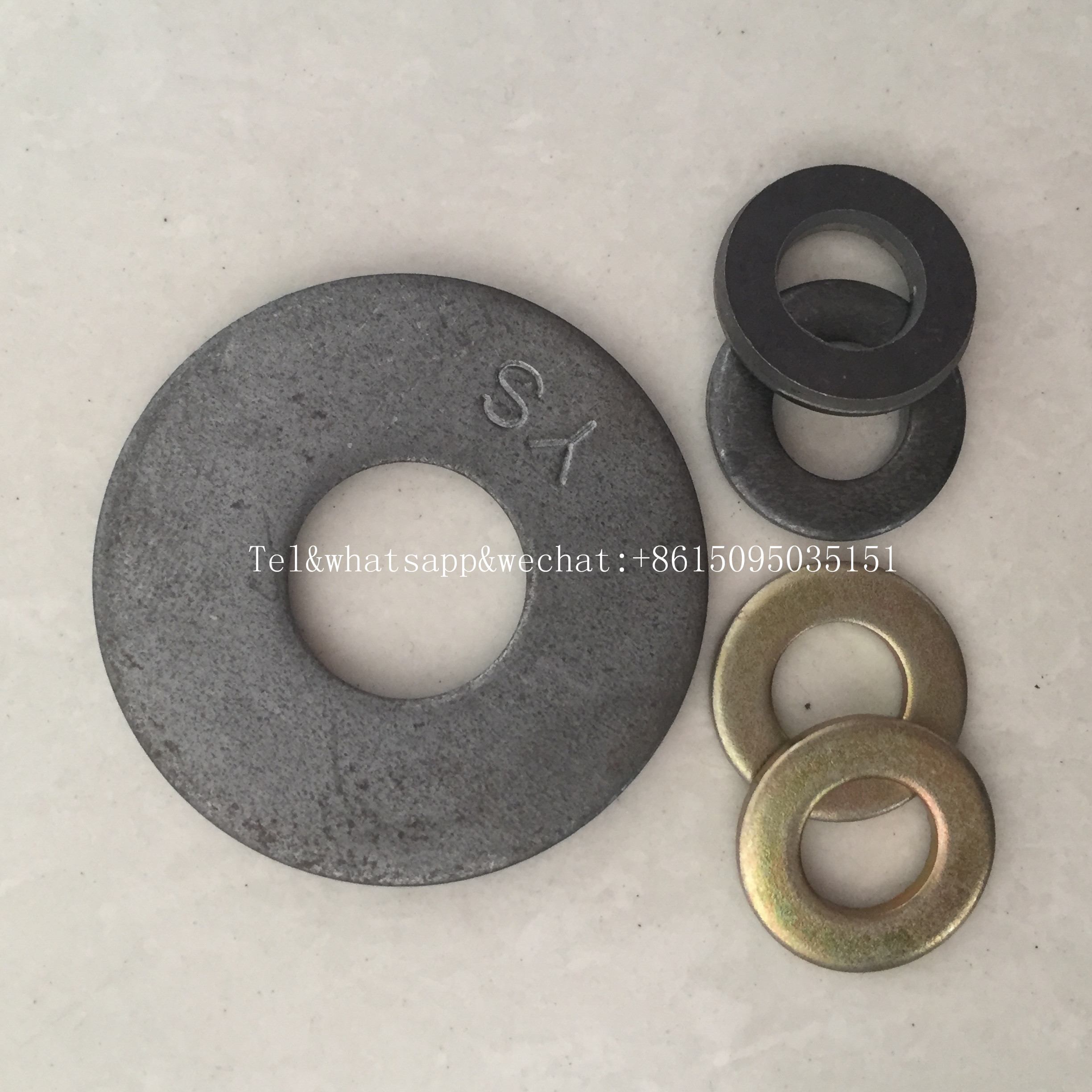 Double spiral gasket double side tooth washer double side tooth tab washer