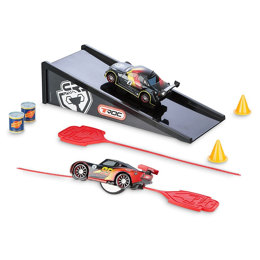 Disney Cars Rip N' Release Racers Play Set - Lightning McQueen and Max Schnell461024839166