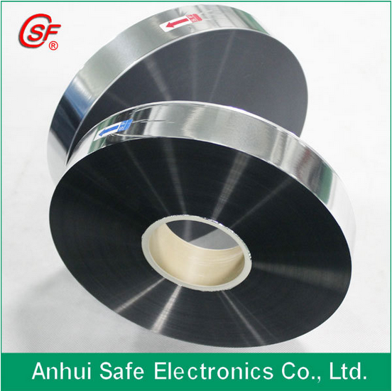 Polypropylene Film metallised with Zinc/Al alloy 9um MPP film for capacitor use