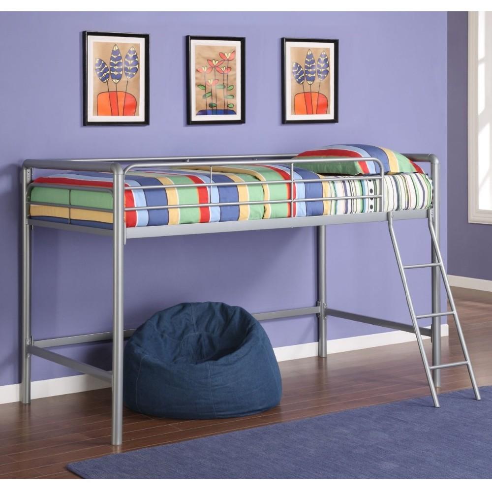 Girls Twin Loft Bed Football Stadium Pink Slide Bunk Beds Buy Twin