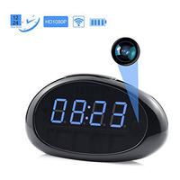 1920x1080P HD Wifi Hidden Camera Clock Indoor Motion Activated Video Recorder DV Camcorder Support APP Remote