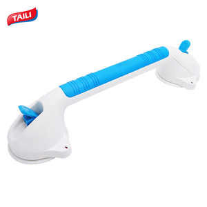 2018 Latest Best Top Removable Elderly Safety Shower Bathtub Handles Toilet Suction Grab Bar for Bathroom
