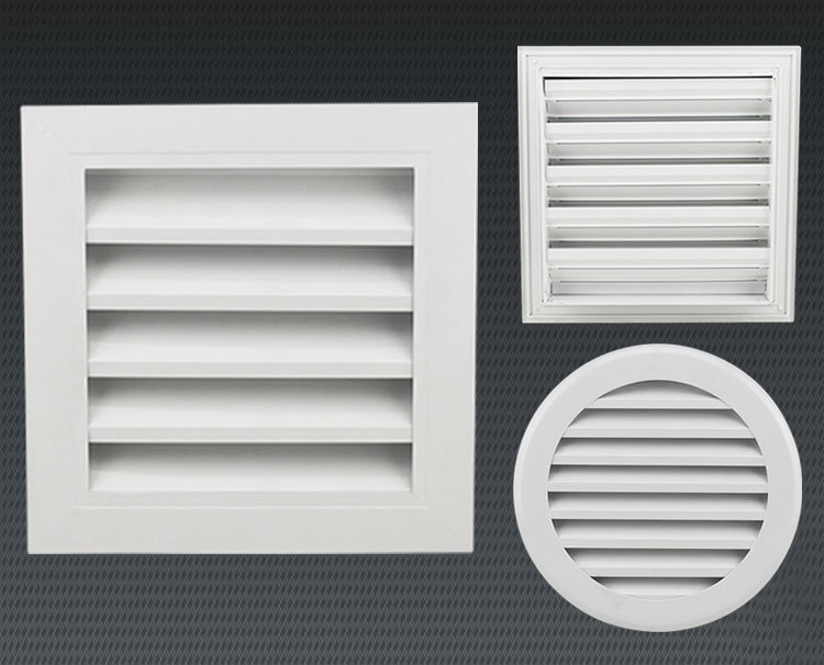Ventilation External Wall Air Vent Aluminum Louver Frame