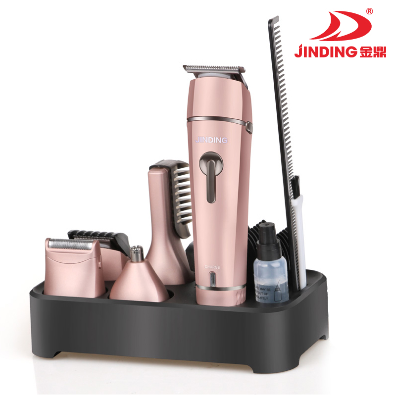 Rechargeable nose hair and beard trimmer JD-9911