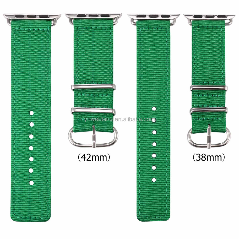 y5Canvas Sport Apple Watch Belt, Nylon 42MM Apple Watch Strap Watchband ,For Iwatch Apple Watch With Adapter