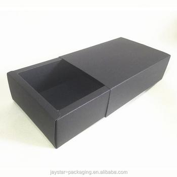 Matt Black Box For Garment Clothing Use And Storage Box Clothing Donation  Box