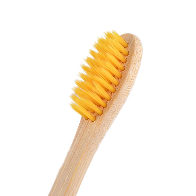 Atacado Biodegradável Ecológica de bambu escova de dentes 4 ou 5 pacote definido para o hotel e viagem