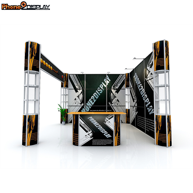 High quality China manufacturer aluminum trade <strong>show</strong> display indoor quick <strong>show</strong> display portable booth