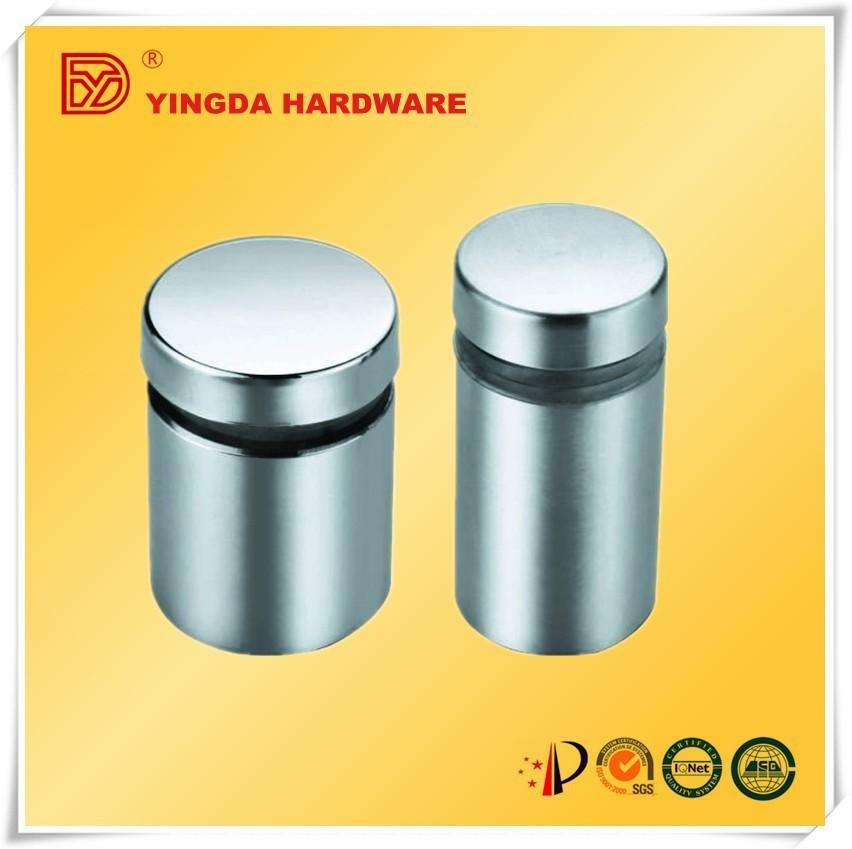 China Supplier Silver Tone Glass Shelf Support,Glass Standoff ...