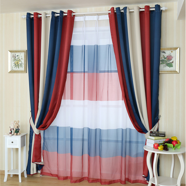 acheter 2015 new m diterran e rideaux pour le salon fen tre moderne rideau de la. Black Bedroom Furniture Sets. Home Design Ideas