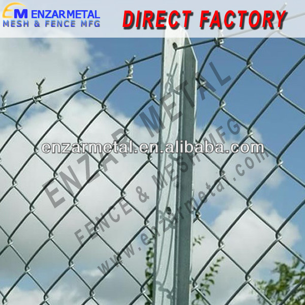 Chain Link Fence/ Diamond Wire Mesh/ Cyclone Wire Fence - Buy Chain ...