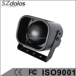Best quality with cheapest price 6 tone / 1 tone car alarm siren for South America