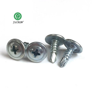 wafer head self drilling screw for wood furniture