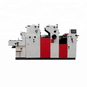 Offset Printing Machine Top Leader ZR262IINP Visiting PVC Card Printing Machine