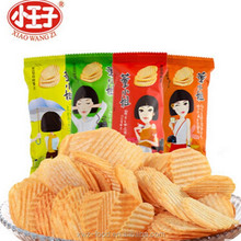 bulk packing potato chips with small bags