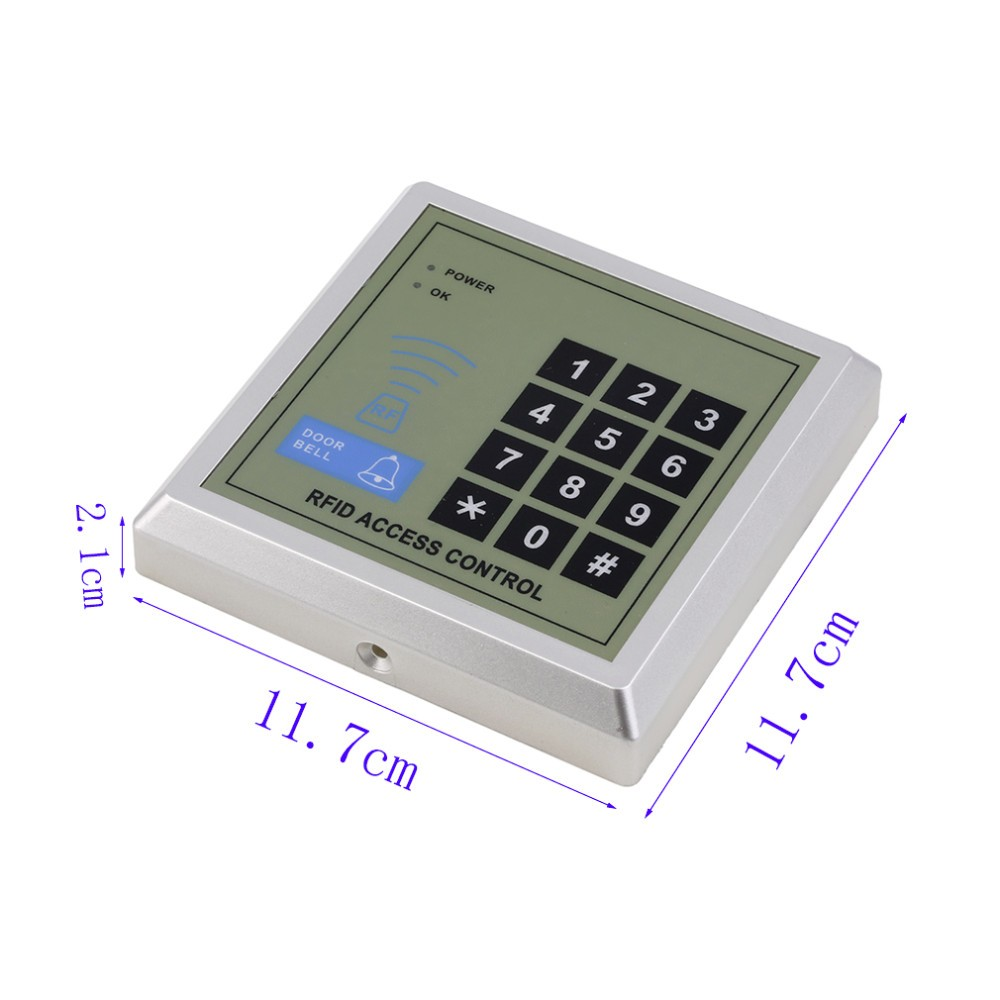 Security Door Lock Access Control System 10 Pcs RFID Keyfobs