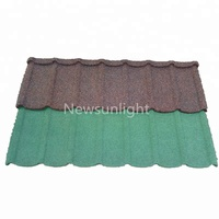 Excellent Quality metal roofing material of color stone coated metal roofing tiles