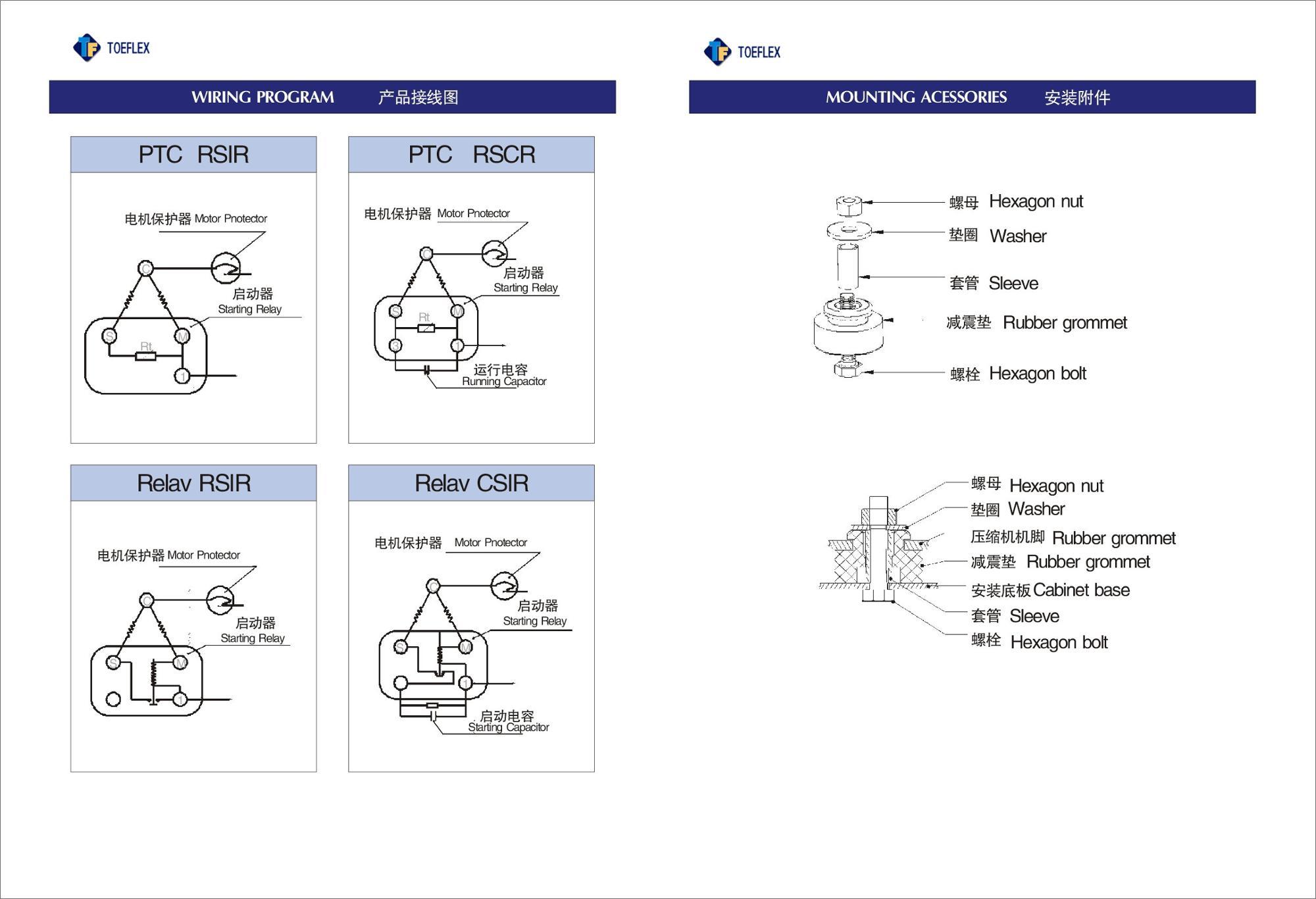 Sichuan Toeflex R134a R600a R290 Compressor For Dehumidifier Buy Wiring Diagram Program