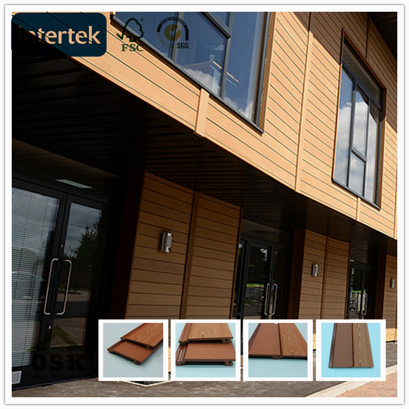 Wpc Composite Wood Siding Waterproof Wall Panels Exterior