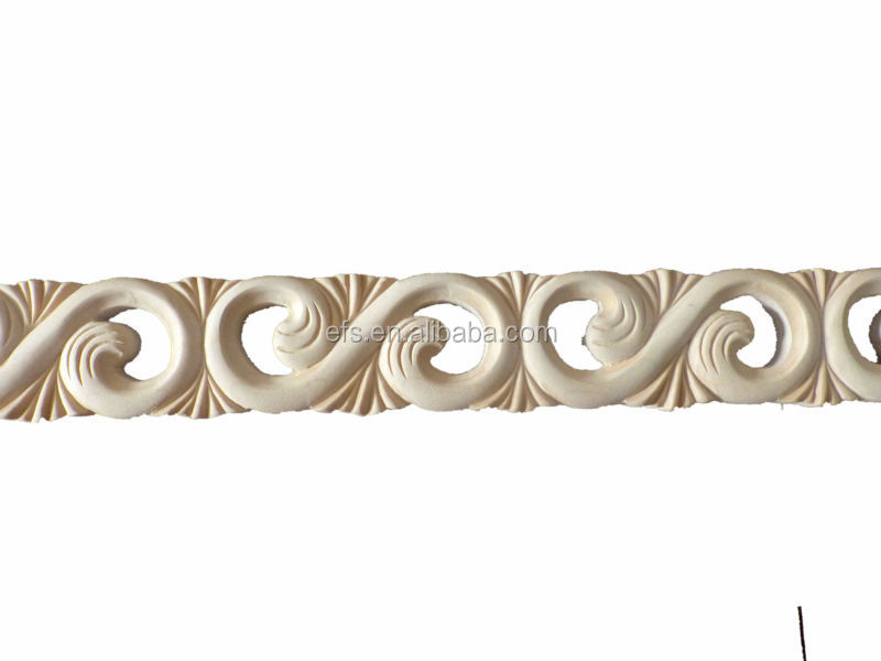 Exquisito marco de madera molduras talladas a mano til - Molduras de madera ...