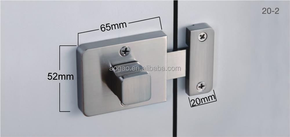 Aogao 20 2 Zinc Alloy Public Bathroom Handle Door Lock