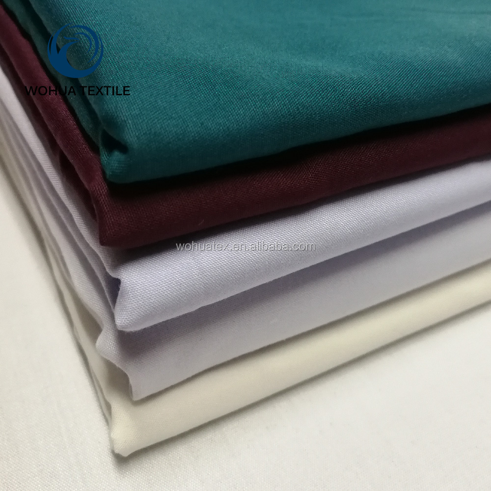 polyester viscose rayon suiting elastane fabric