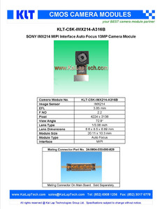 sony imx206, sony imx206 Suppliers and Manufacturers at