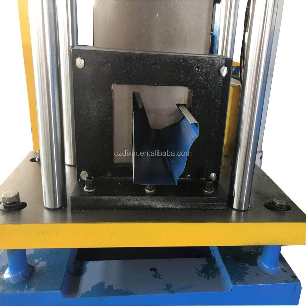 Steel Rain Gutter Making Machine View Seamless Gutter
