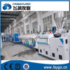 PVC waste water draining supply pipe extrusion making machine production line