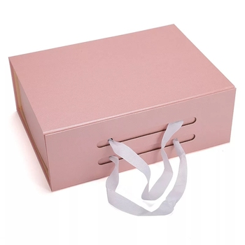 Flip top boxes with magnetic catch , Custom logo folding Rigid paper box packing luxury magnet gift box