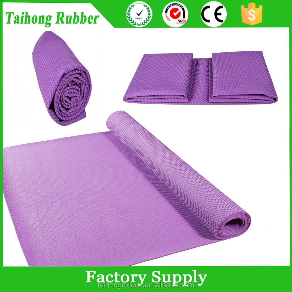 Wholesale alibaba rubber floating water mat provide label