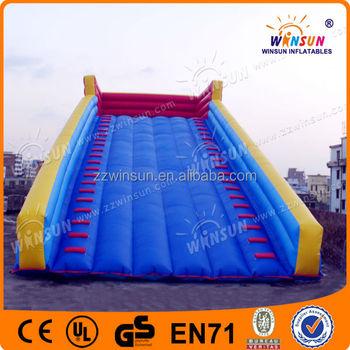Adrenaline rush inflatable bong bóng ramp dốc trượt