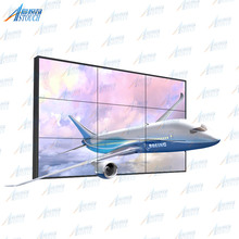 New Product! 49-inch IPS LED Panel 3.5mm Ultra Narrow Bezel 3x3 LCD Video Wall