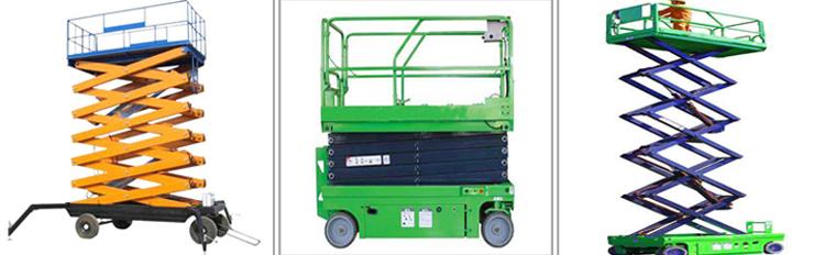 WEIHUA Brand 8m 10m  Movable Electric Hydraulic Scissor Lift Platform