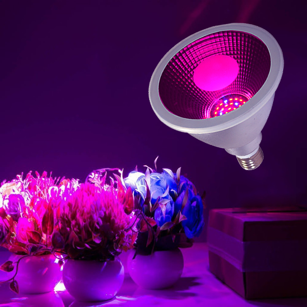 High quality cheap par30 e27 led light bulb 12W 30 degree Flower Plants Lamp LED Grow Light for Plants Grow and Bloom