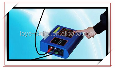 Easy operation data record ultrasonic portable flow meter