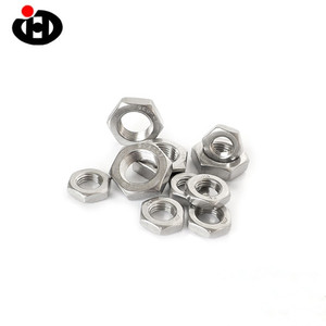 Blinds Tools High Quality Fasteners DIN971 Alloy Steel Hex Thin Nuts M6 M8 M10 Fine Thread Nuts