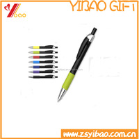 Promotion gifts /Custom logo plastc press ball pens with full color printing
