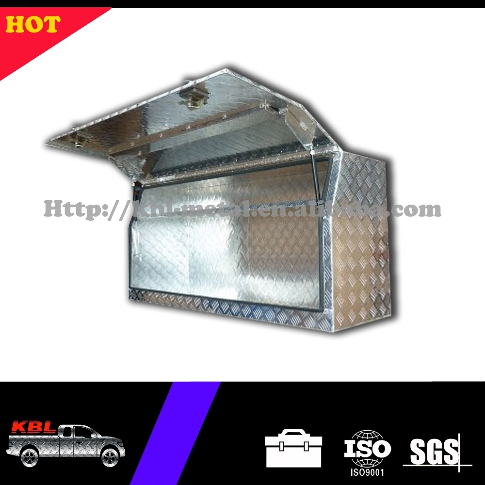 Customized Heavy Duty Aluminum Checkerplate Pickup Truck US General Tool Boxes OEM/ODM (KBL-FTB1450)