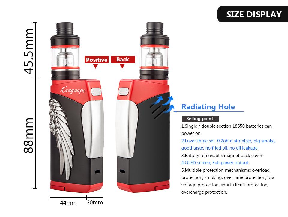 Shenzhen Factory Lover TC 80W Vape Mods Box Mod/CBD Vaporizer Mod Dry Herb