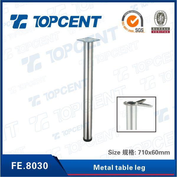 Stainless steel furniture metal table leg for dining table