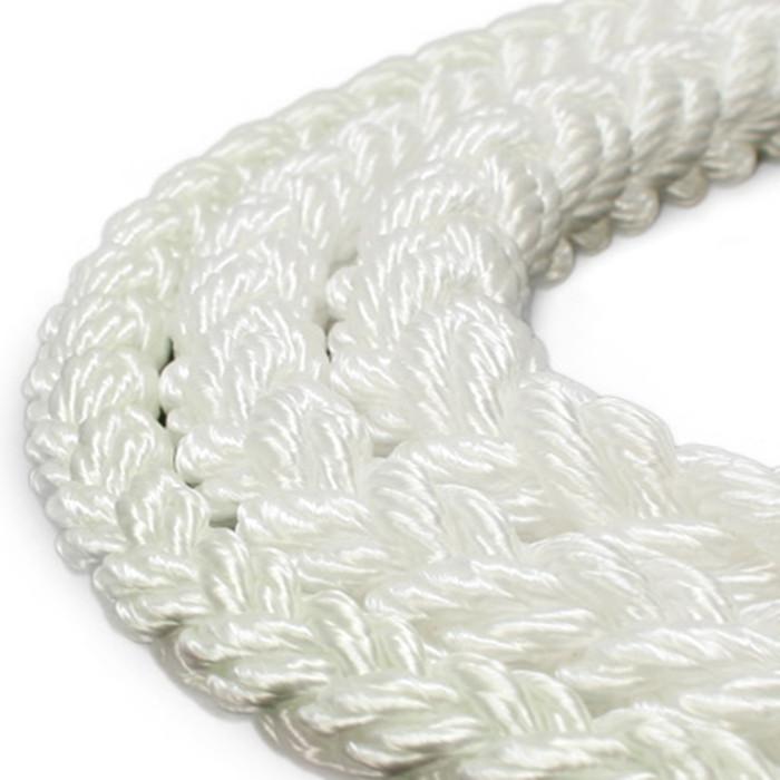 8 strand anchor rope for sailing, marine supply, polypropylene Amazon products hot cake 8 strand  plaited nylon dock line
